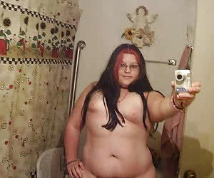 Inexperienced young fatties first nude selfshots