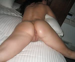 Creampie on ass gal