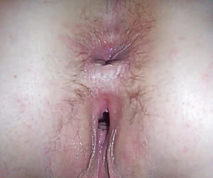 Young girlfriends showing their gaping pussy holes