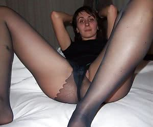 Mix of candid sluts wearing pantyhose images