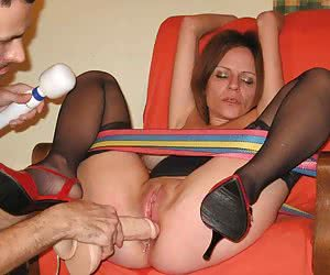 Nice slut has fun with toys gall