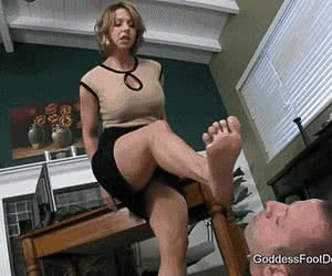 Category: foot domination animated GIFs