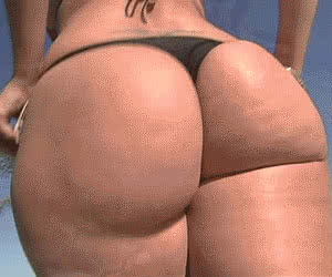 Round Ass animated GIF