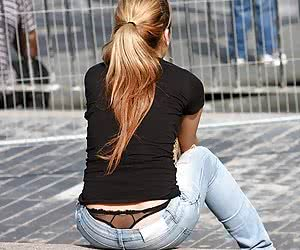 Category: exposed thong whaletail