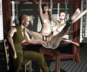 3D BDSM Artwork.