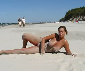 A shaved girl at the Costa Natura