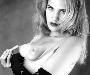 black and white glamour