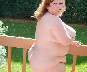 Fat nudists, mostly with big tits