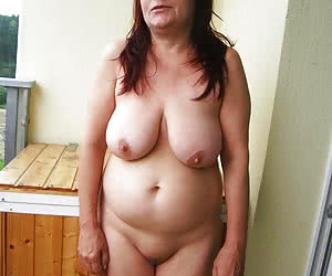 Plump old maidens shy to pose nude for 1st time