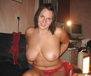 Busty chubby amateur mix gall
