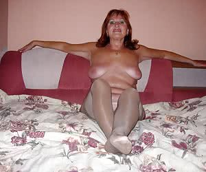My new sexy plump wife posing nude in nylon for me before hardcore sex.