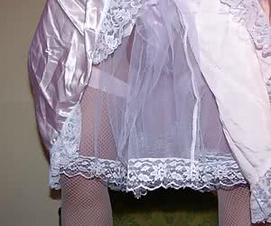 A crossdresser in nylons series series