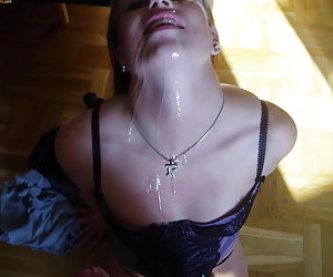 Real MILF wives giving hot blowjobs