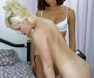 Czech girls know how to bring each other to the peak of pleasure