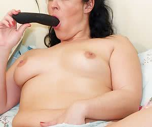 Hi Im Montse from Barcelona and its time to play and I know you all want to watch so I start by flashing my knickers to