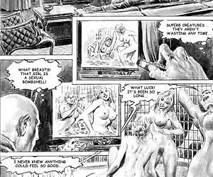 Perverted clinic in the sadistic comics `Doctor Sex`