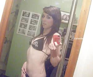 Social networks profiles of amateur girlfriend giving blowjob