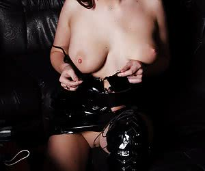 Mistress waiting for slaves