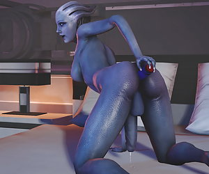 3D Monster Futanari