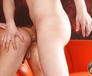 3 cute gay friends gonna experiment with double penetration sex.
