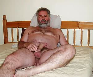 Old Hairy Gay Men
