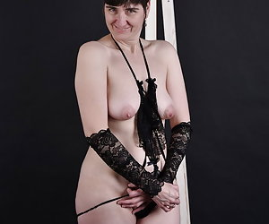 in a tight lingerie outfit on the chair.What's special about my lingerie.Fine lace fabric on my skin.