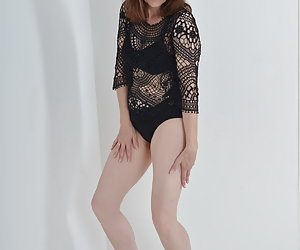 Lingerie and fishnet dress fall.Naked I find it eh most beautiful.And what you will find beautiful