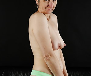 Under the white blouse I hid a green bra set.Again a nice user request.I like to fulfil something like that.