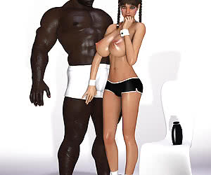 3D interracial action