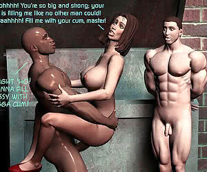 Interracial toons free pics