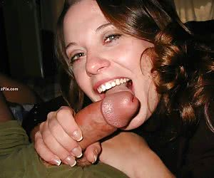 Real girlfriend gives nice blowjob and gets facialized