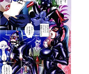 Check out great-looking latex manga where helpless chicks get dressed in latex and tortured hard.