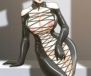 If you are interested in seeing what latex mistresses do on latex anime pics then enter this gallery.