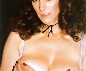 Kay Taylor is a busty featured American exotic dancer, pin-up model and classic porn actress