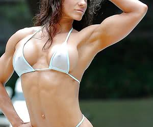 Celebrity biceps muscle clips and muscle pics.