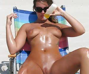 Naked On The Beach! Gallery #130