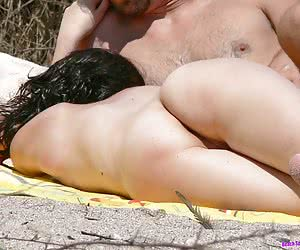 Nude beach hot pictures and video