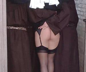 3 monks fucking a hot nun
