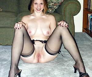 amateur stockings nylons legs