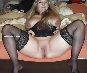 Banned content of real life girl next door posing at home