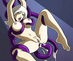Anime whores fucked by tentacles