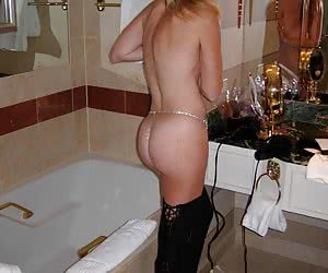 All kinds of sexy thongs on all kinds of cute amateur babes