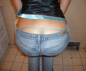 User-submitted pictures of ordinary girlfriends in thongs
