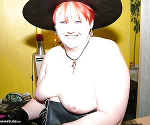 I am certainly a very horny witch and I love being naughty for my fans.