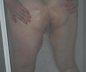 It's always nice to have a hot soapy shower after a day out flashing in the mountains.