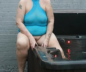 This super clingy blue dress looks even hotter as it gets wet, so get your wank rags ready and enjoy the ride.Big Love V
