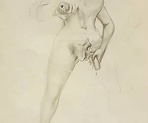Guro was born centuries ago and is well known for these vintage porn drawings.