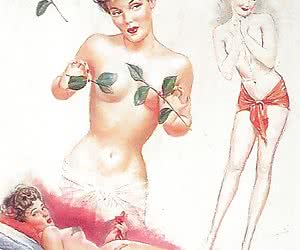 The beauty and romance of vintage porn cartoons always were on the edge.