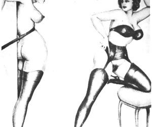 Weirdest and hottest things may come true in vintage porn comics.