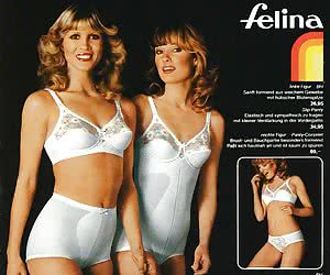Amazingly sexy and gorgeous females in action on real retro lingerie pictures of your dreams